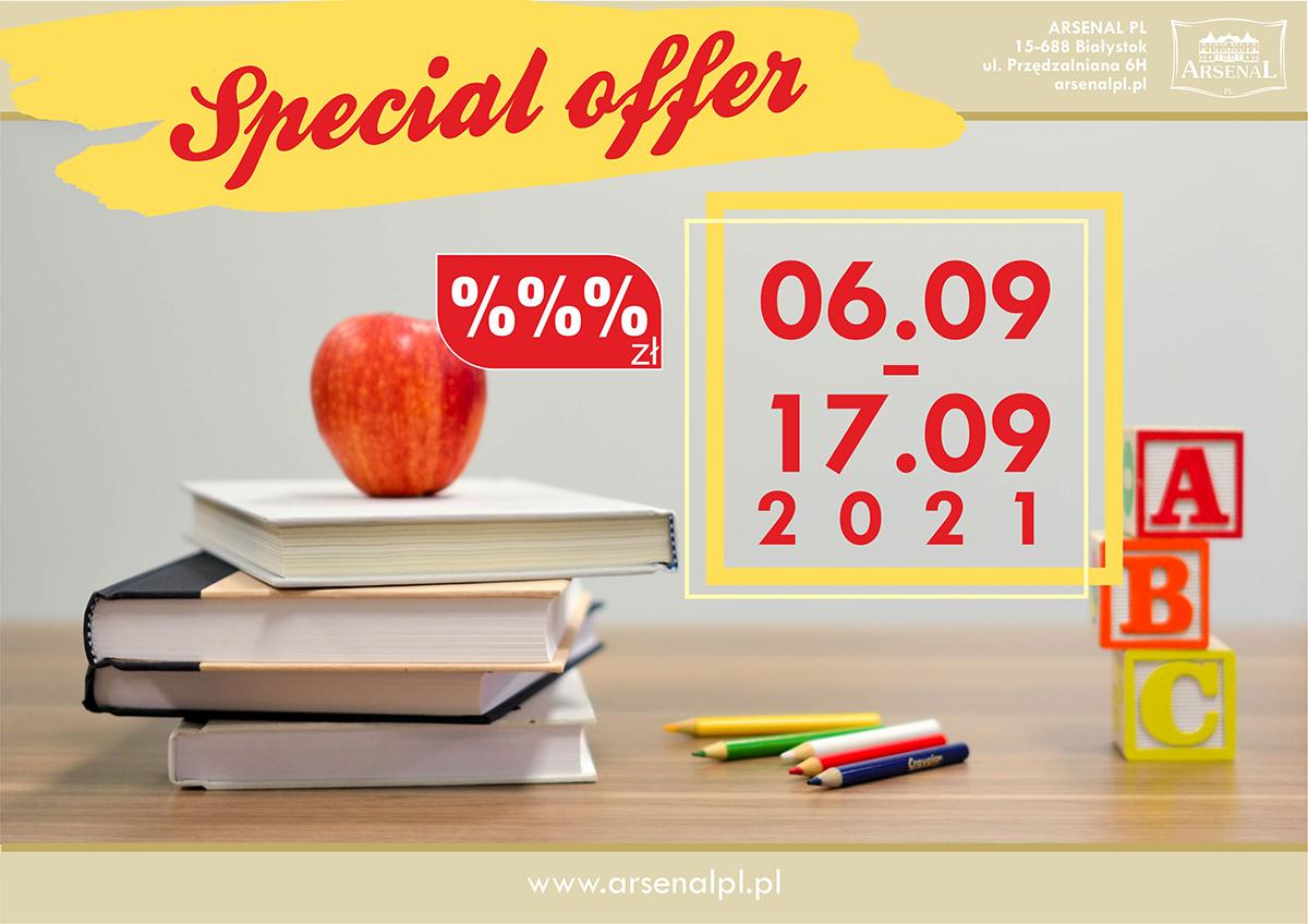 Special offer September 2021